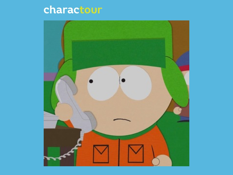 kyle broflovski from south park charactour