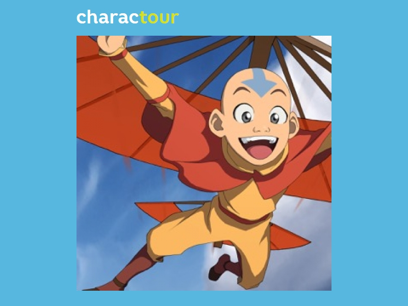 Aang From Avatar The Last Airbender Charactour