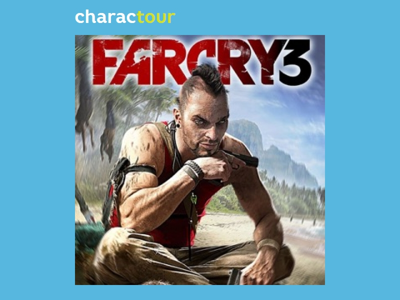 Vaas Montenegro From Far Cry 3 Charactour