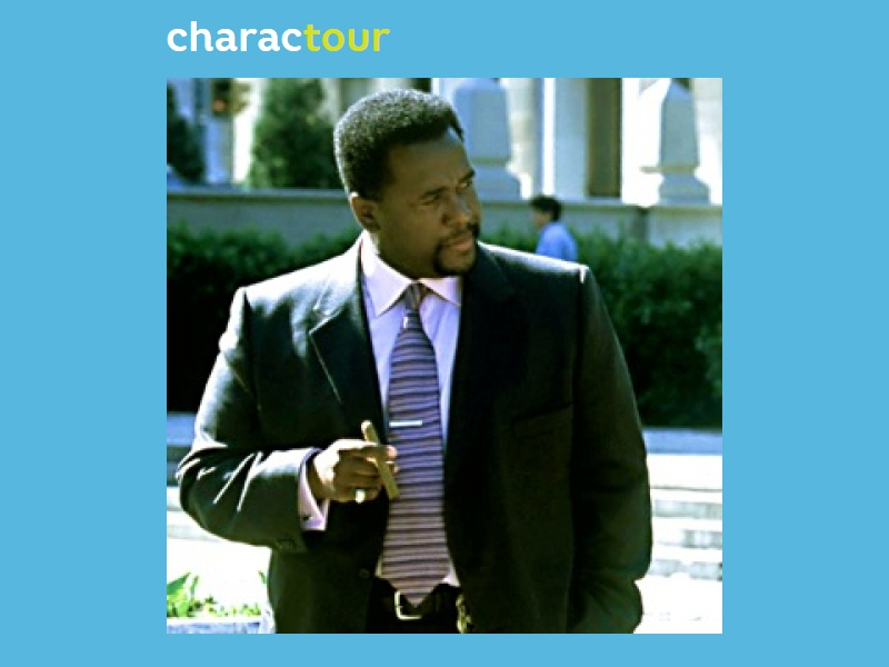Bunk Moreland from The Wire | CharacTour: Everyone\'s a Character